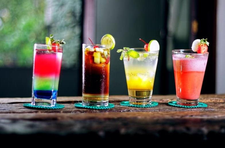 verres vodka bonbon
